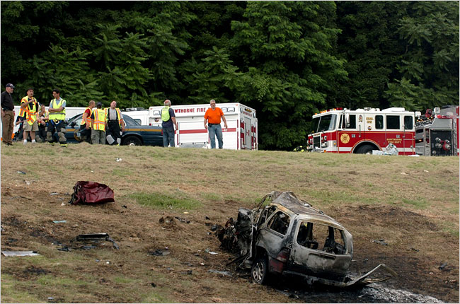 Diane Schuler Car Crash Images